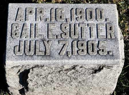 SUTTER, GAIL E - Richland County, Ohio | GAIL E SUTTER - Ohio Gravestone Photos