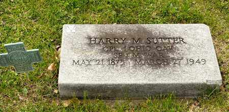 SUTTER, HARRY M - Richland County, Ohio | HARRY M SUTTER - Ohio Gravestone Photos