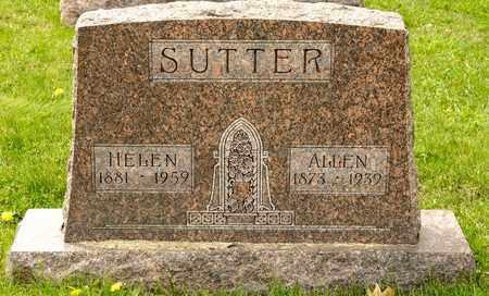 SUTTER, ALLEN - Richland County, Ohio | ALLEN SUTTER - Ohio Gravestone Photos