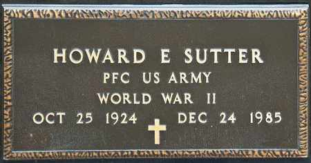 SUTTER, HOWARD E - Richland County, Ohio | HOWARD E SUTTER - Ohio Gravestone Photos