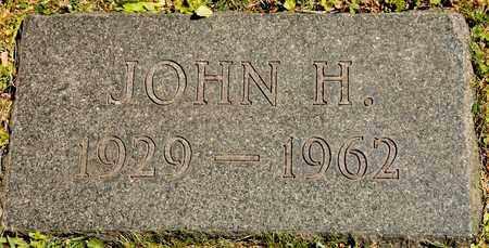 SUTTER, JOHN H - Richland County, Ohio | JOHN H SUTTER - Ohio Gravestone Photos