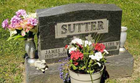 SUTTER, JAMES A - Richland County, Ohio | JAMES A SUTTER - Ohio Gravestone Photos