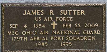 SUTTER, JAMES R - Richland County, Ohio | JAMES R SUTTER - Ohio Gravestone Photos