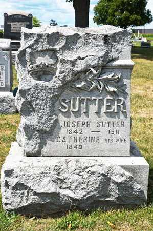SUTTER, JOSEPH - Richland County, Ohio | JOSEPH SUTTER - Ohio Gravestone Photos