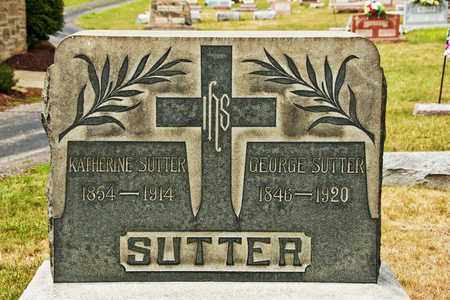 SUTTER, KATHERINE - Richland County, Ohio | KATHERINE SUTTER - Ohio Gravestone Photos