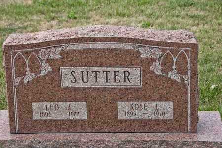SUTTER, ROSE L - Richland County, Ohio | ROSE L SUTTER - Ohio Gravestone Photos