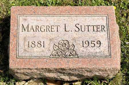 SUTTER, MARGRET L - Richland County, Ohio | MARGRET L SUTTER - Ohio Gravestone Photos