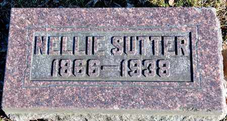 SUTTER, NELLIE - Richland County, Ohio | NELLIE SUTTER - Ohio Gravestone Photos