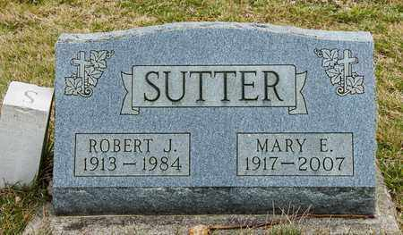 SUTTER, ROBERT J - Richland County, Ohio | ROBERT J SUTTER - Ohio Gravestone Photos