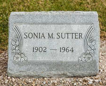 SUTTER, SONIA M - Richland County, Ohio | SONIA M SUTTER - Ohio Gravestone Photos