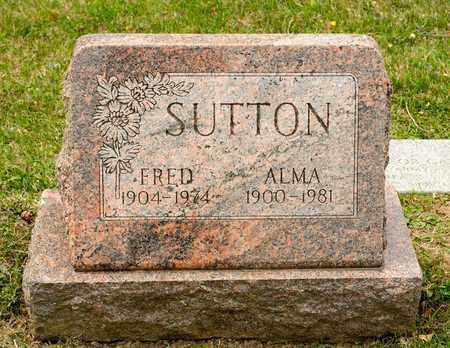 SUTTON, FRED - Richland County, Ohio | FRED SUTTON - Ohio Gravestone Photos