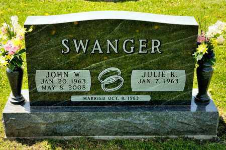 SWANGER, JOHN W - Richland County, Ohio | JOHN W SWANGER - Ohio Gravestone Photos