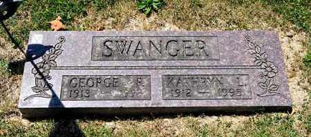 SWANGER, KATHRYN L - Richland County, Ohio | KATHRYN L SWANGER - Ohio Gravestone Photos