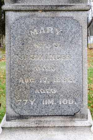 SWANGER, MARY - Richland County, Ohio | MARY SWANGER - Ohio Gravestone Photos