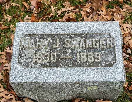 SWANGER, MARY J - Richland County, Ohio | MARY J SWANGER - Ohio Gravestone Photos