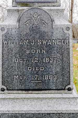 SWANGER, WILLIAM J - Richland County, Ohio | WILLIAM J SWANGER - Ohio Gravestone Photos