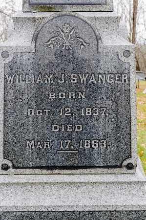SWANGER, WILLIAM J - Richland County, Ohio   WILLIAM J SWANGER - Ohio Gravestone Photos