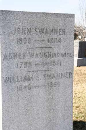 SWANNER, WILLIAM S - Richland County, Ohio | WILLIAM S SWANNER - Ohio Gravestone Photos