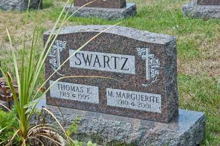 SWARTZ, THOMAS E - Richland County, Ohio | THOMAS E SWARTZ - Ohio Gravestone Photos