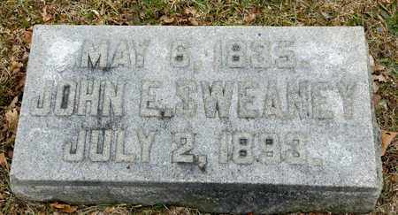 SWEANEY, JOHN E - Richland County, Ohio | JOHN E SWEANEY - Ohio Gravestone Photos