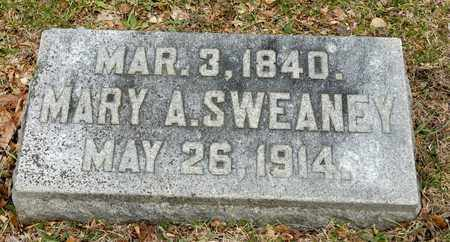 SWEANEY, MARY A - Richland County, Ohio | MARY A SWEANEY - Ohio Gravestone Photos