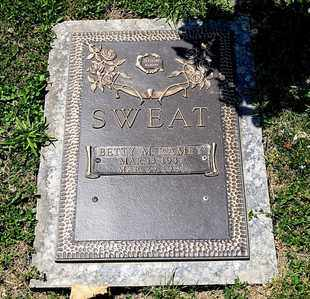SWEAT, BETTY M - Richland County, Ohio | BETTY M SWEAT - Ohio Gravestone Photos