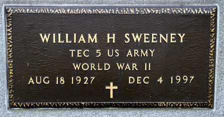 SWEENEY, WILLIAM H - Richland County, Ohio | WILLIAM H SWEENEY - Ohio Gravestone Photos
