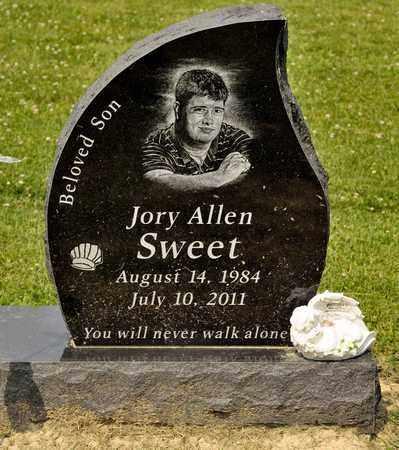 SWEET, JORY ALLEN - Richland County, Ohio | JORY ALLEN SWEET - Ohio Gravestone Photos