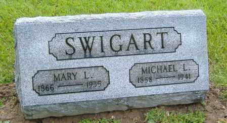 SWIGART, MARY L. - Richland County, Ohio | MARY L. SWIGART - Ohio Gravestone Photos