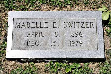SWITZER, MABELLE E - Richland County, Ohio | MABELLE E SWITZER - Ohio Gravestone Photos