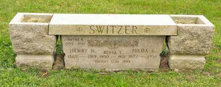 SWITZER, HILDA E - Richland County, Ohio | HILDA E SWITZER - Ohio Gravestone Photos