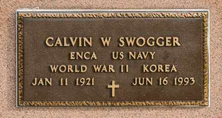 SWOGGER, CALVIN W - Richland County, Ohio | CALVIN W SWOGGER - Ohio Gravestone Photos