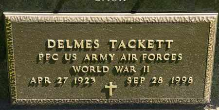 TACKETT, DELMES - Richland County, Ohio | DELMES TACKETT - Ohio Gravestone Photos