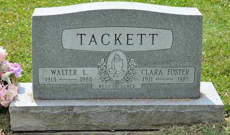FOSTER TACKETT, CLARA - Richland County, Ohio | CLARA FOSTER TACKETT - Ohio Gravestone Photos