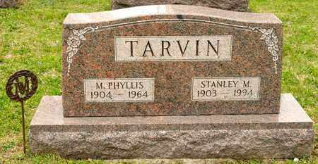 TARVIN, M PHYLLIS - Richland County, Ohio | M PHYLLIS TARVIN - Ohio Gravestone Photos
