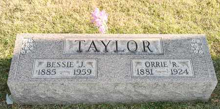 TAYLOR, BESSIE J - Richland County, Ohio | BESSIE J TAYLOR - Ohio Gravestone Photos