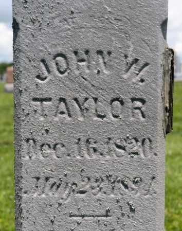 TAYLOR, JOHN W - Richland County, Ohio | JOHN W TAYLOR - Ohio Gravestone Photos