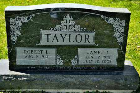 TAYLOR, JANET L - Richland County, Ohio | JANET L TAYLOR - Ohio Gravestone Photos