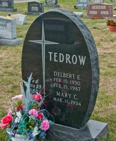 TEDROW, DELBERT E - Richland County, Ohio | DELBERT E TEDROW - Ohio Gravestone Photos