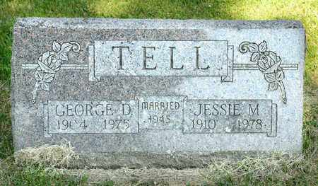 TELL, JESSIE M - Richland County, Ohio | JESSIE M TELL - Ohio Gravestone Photos