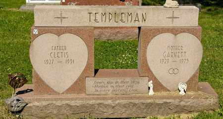 TEMPLEMAN, CLETIS - Richland County, Ohio | CLETIS TEMPLEMAN - Ohio Gravestone Photos