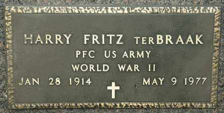 TER BRAAK, HARRY FRITZ - Richland County, Ohio | HARRY FRITZ TER BRAAK - Ohio Gravestone Photos