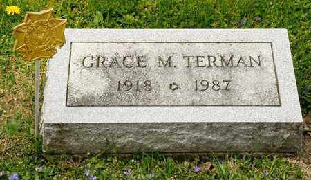 TERMAN, GRACE M - Richland County, Ohio | GRACE M TERMAN - Ohio Gravestone Photos