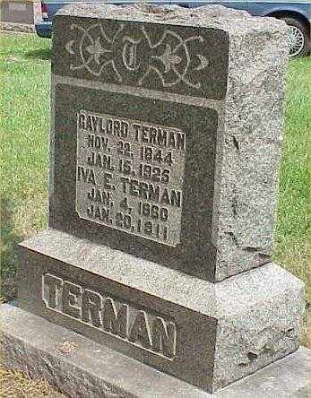 TERMAN, GAYLORD - Richland County, Ohio | GAYLORD TERMAN - Ohio Gravestone Photos