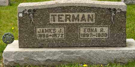 TERMAN, EDNA R - Richland County, Ohio | EDNA R TERMAN - Ohio Gravestone Photos