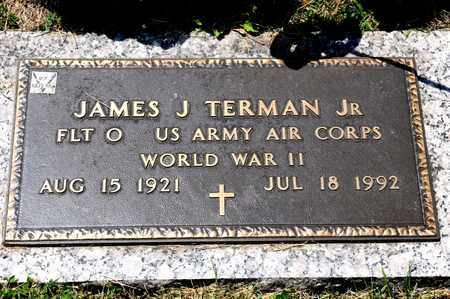 TERMAN JR, JAMES J - Richland County, Ohio | JAMES J TERMAN JR - Ohio Gravestone Photos