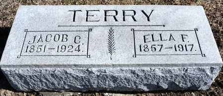 TERRY, ELLA F - Richland County, Ohio | ELLA F TERRY - Ohio Gravestone Photos