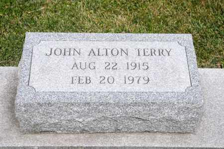 TERRY, JOHN ALTON - Richland County, Ohio | JOHN ALTON TERRY - Ohio Gravestone Photos