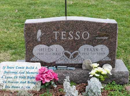 TESSO, HELEN L - Richland County, Ohio | HELEN L TESSO - Ohio Gravestone Photos
