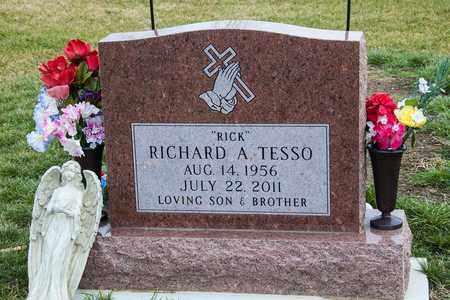 TESSO, RICHARD A - Richland County, Ohio | RICHARD A TESSO - Ohio Gravestone Photos